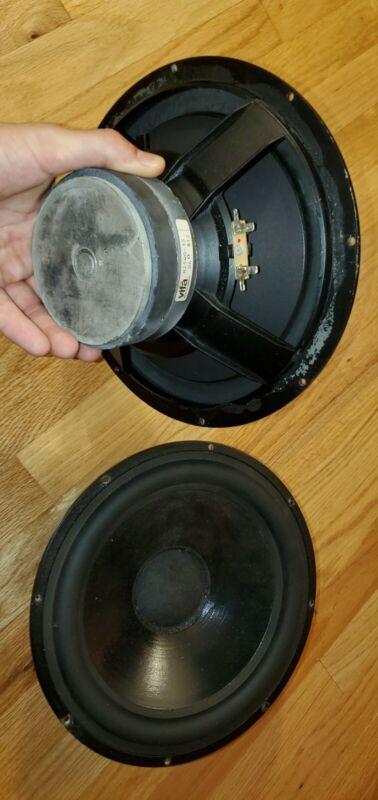 """2x Thiel CS 3.5 Speaker 10"""" WOOFER ,Vifa M25WO-35 6 ohm PAIR"""