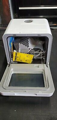 Farberware Portable Dishwasher with Built-In Water Tank in White FDW05ASBWHA
