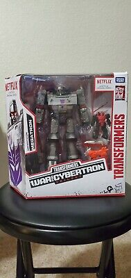 Transformers War for Cybertron Netflix Voyager Decepticon Megatron 3-Pack NEW!!