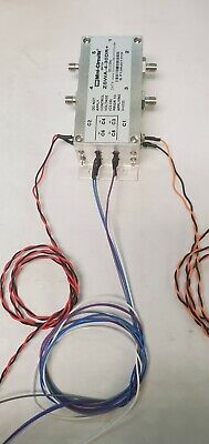 Pre-wired Mini-circuits Zswa-4-30dr 50 Sp4t Sma Rf Switch Dc To 3ghz