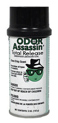 Odor Assassin Total Release Clean Crisp Scent Air Freshener