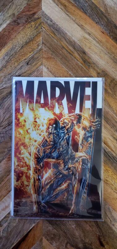 Marvel #6 2021 MARVEL Comics 1:25 Lee Bermejo Silver Surfer Variant Cover NM