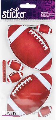 Sticko Football Stickers Sports Team Players Touchdown Super Bowl
