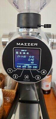 Mazzer Zm Coffee Grinderwith 151g Burr