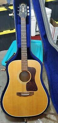 Vintage Guild d30 guitar with hard case