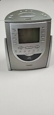Timex T618T AM/FM Radio CD Player with Alarm Clock Snooze & Nature Sounds