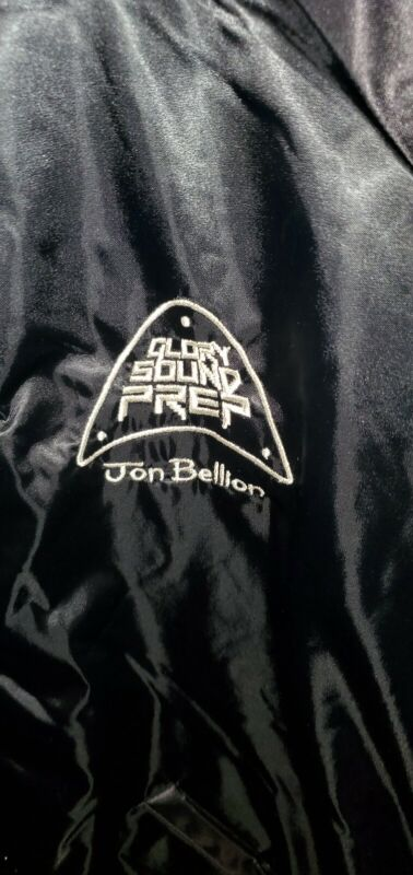 Jon Bellion Glory Sound Prep XL Black Satin Cardinal Jacket