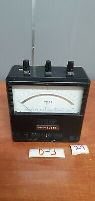 Yew Vintage Yokogawa Electric Works Type Portable Ac Voltmeter M516k1