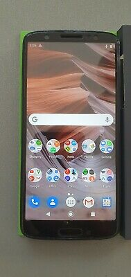 "Motorola Moto G6 (Black, 64GB)4GB RAM Version (4G) 5.7"" 12+5MP dual rear camera"