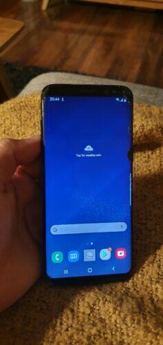 Android Phone - Samsung Galaxy S8 - 64GB - Midnight Black Smartphone - Used & Unlocked