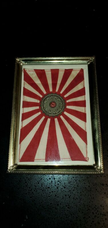 EXTREMELY RARE Original Japanese  6x5    personalized item from japanese soldier