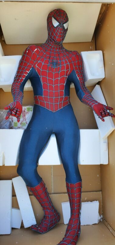Spider-Man life size from Blockbuster, Spiderman, exclusive