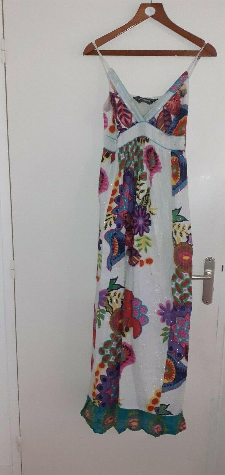 Magnifique robe longue desigual t.40