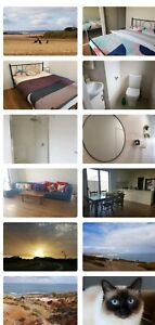 Room for rent in a family home.