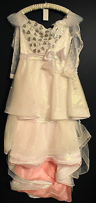 New Disney Store GLINDA Good Witch OZ Deluxe Costume Dress Misses 10 Limited Ed](Deluxe Glinda Costume)