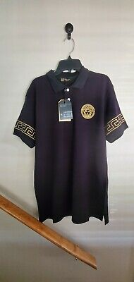 Versace polo Shirt size XXL brand New With Tags.