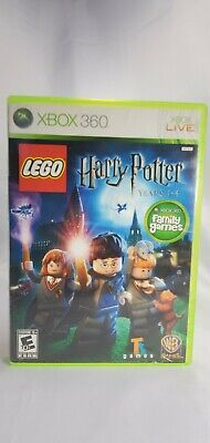 LEGO Harry Potter: Years 1-4 Microsoft Xbox 360 2010, Good Condition