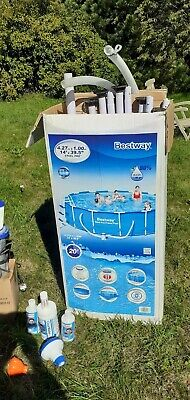 Bestway Swimming Pool Equipment (Poles, Pump, Steps, Chemicals, Cleaner)no liner