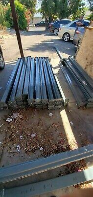 Teardrop Pallet Rack Upright - 8ft Beam 96 4 12