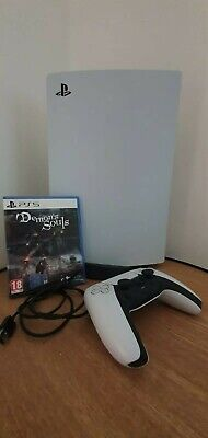 Sony PS5 Blu-Ray Edition Console - Bianco + Demon's Souls