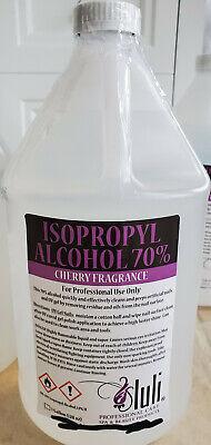 Isopropyl Alcohol 70 Clear Cherry Fragrance 1 Gallon - 128 Oz