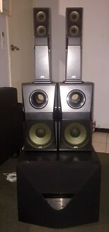 Jvc Surround Speakers Sony Home Theatre Sub