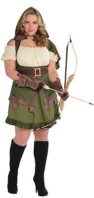 Ruby Hood Damenkostüm Plus-Size NEU - Damen Karneval Fasching Verkleidung Kostüm