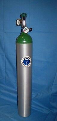 Chemetron Medical Oxygen Tank Gauge Regulator Empty