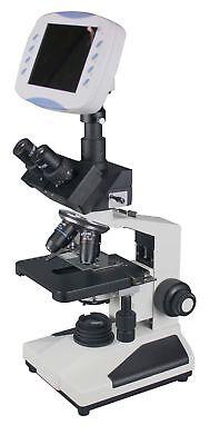 Radical Research Quality Trinocular Microscope W 6 Lcd Monitor 2mp Tv Camera...