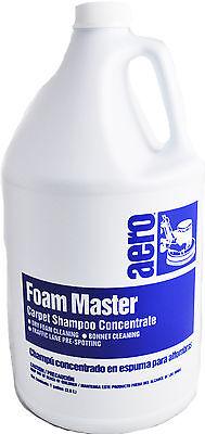 Trockenen Schaum Teppich (Aero Schaum Master Trocken Teppich Shampoo Konzentrat, 1 Gallonne)