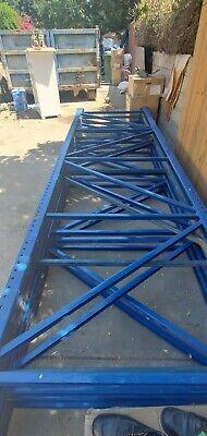 14ft H 4 Ft Wide Teardrop Pallet Rack Upright