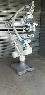 Moller Wedel Vm900 Neurosurgical Microscope With Xenon Xl-300 Light Source