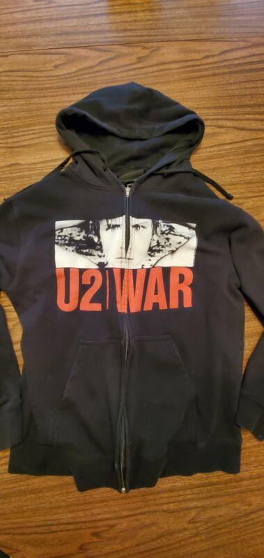 U2 WAR ZIP UP HOODIE (L)
