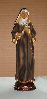 ST SAINT RITA OF CASCIA 12 inch Statue  NEW Patron of Abuse & Impossible