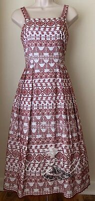 Antonio Melani Tammy Square Neck A-line Midi Dress NWT Size 0,2,4,6,8,10,14