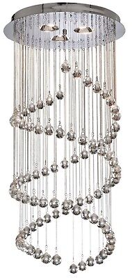 Crystal steel canopy chandelier on sale clearance, cheap price for great product