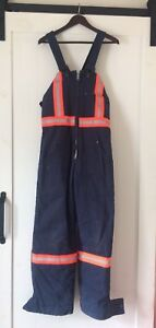 Insulated Safety Coveralls Men's size Small