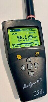 Nti Minilyzer Ml1 Audio Analyzer Nti Minispl Audio Test Microphone