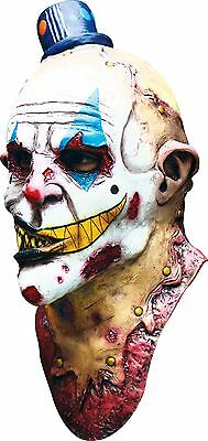 Halloween MIME ZACK BIZARRE CLOWN Adult Latex Deluxe Mask Ghoulish Productions - Freaky Halloween Clowns