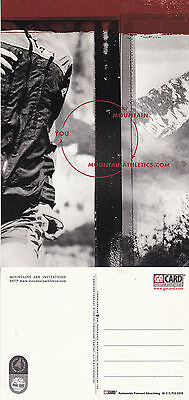 MOUNTAIN ATHLETICS . COM UNUSED ADVERTISING COLOUR  POSTCARD