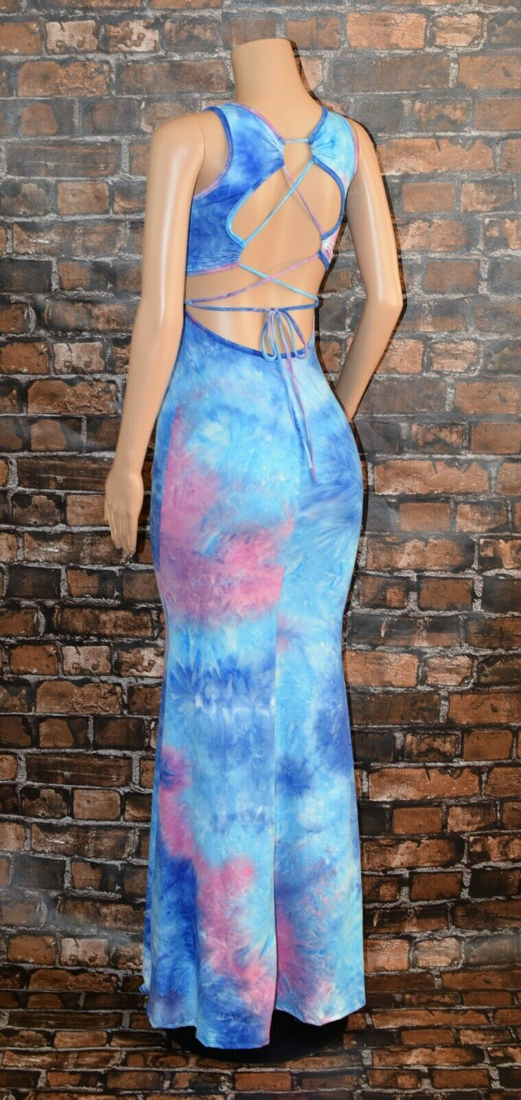 Maxi Dress Tie Dye 8