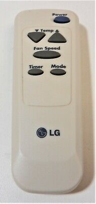 Lg 6711A20066L Room Air Conditioner Remote Control