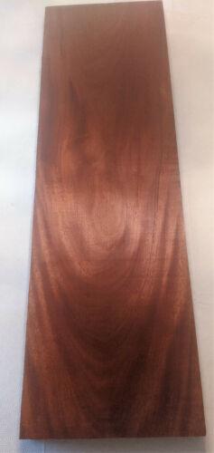 "Genuine Honduran Mahogany 8/4 Lumber, Wide Figured Board, 14.5 x 48"", 9.7 B.F."