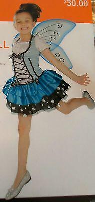 Bluebell Fairy Girls Halloween Costume Size S