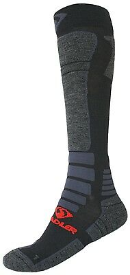 Stadler Motorrad Socken lang Funktionssocken Wandersocken aus Merinowolle