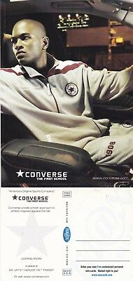 CONVERSE SPORTS CLOTHING UNUSED ADVERTISING COLOUR POSTCARD (a)