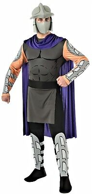 TMNT Villain Shredder Ninja Turtles Cosplay Halloween Adult Mens Costume N19