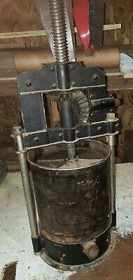 Original Old Style Sausage Stuffer Lard Wine Press Parts