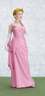Dollhouse Miniature Lady in Pink Gown (Patricia)