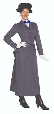 Forum Novelties English Nanny Mary Poppins Plus Size Halloween Costume 72231 - English Halloween Costumes